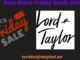 Lord and taylor Black Friday 2020