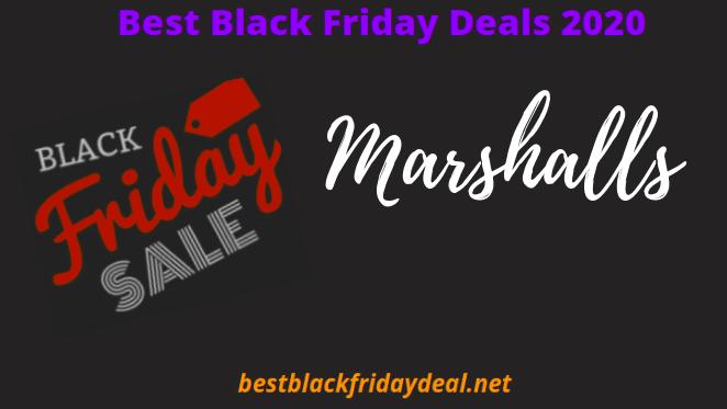 Marshalls Black Friday Deals 2020