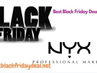 NYX Black Friday Deals 2020