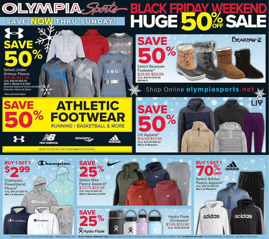 Olympia Sports Black Friday 2019 Ad Scan - 1