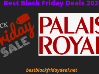 Palais royal black friday 2020