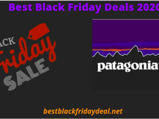 Patagonia Black Friday Deals 2020