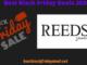 Reeds Black Friday 2020