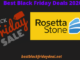Rosetta Stone Black Friday 2020