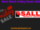 Sally Black Friday Deals 2020