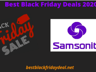 Samsonite Black Friday 2020 Deals