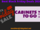 Cabinets to go black friday 2020