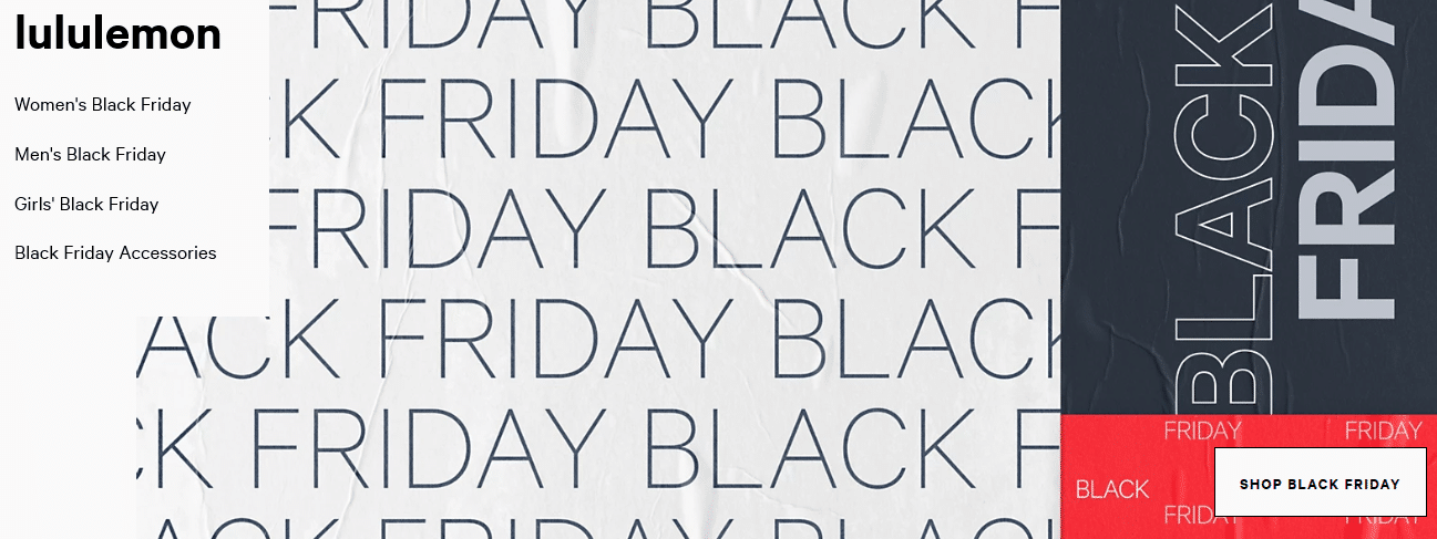 lululemon black friday