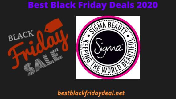 Sigma Beauty Black Friday 2020