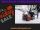 Snow Blower Black Friday 2020
