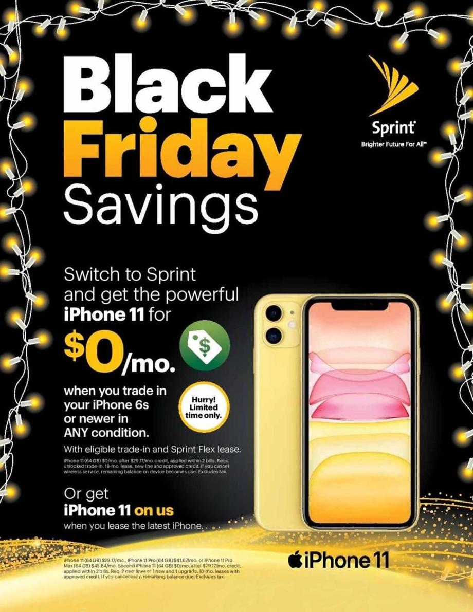 Sprint Black Friday Ad 1