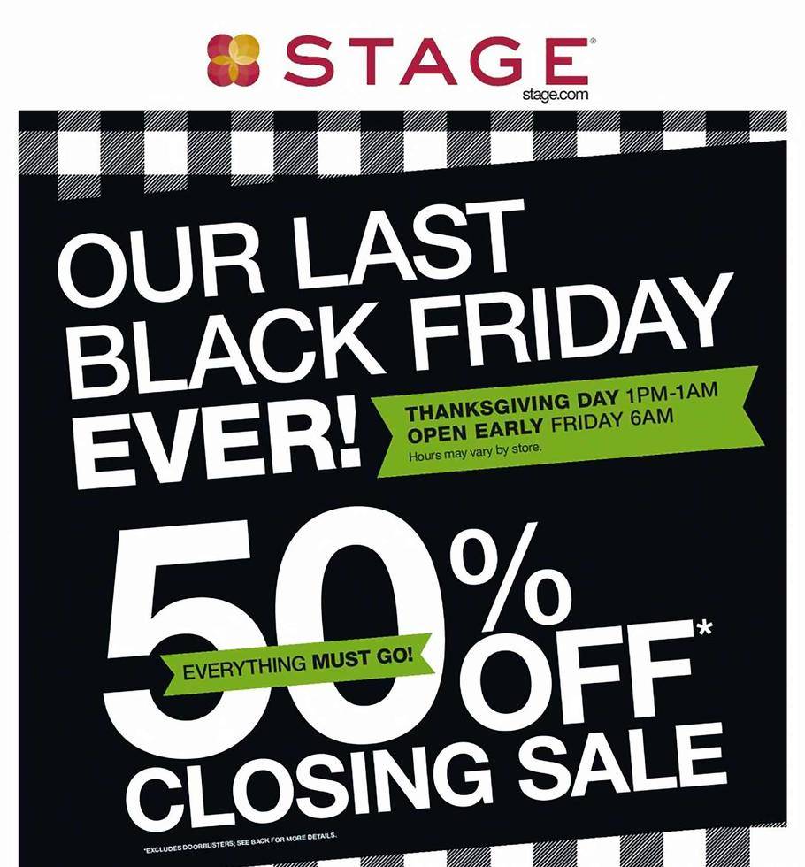Stage Store Black Friday 2019 Ad