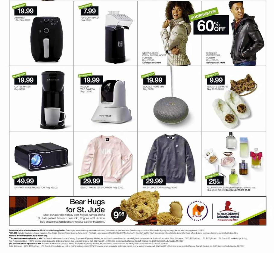 Stage Store Black Friday 2019 Ads
