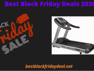 Treadmill Black Friday Sale 2020