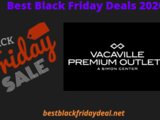 Vacaville Premium Outlets Black Friday 2020