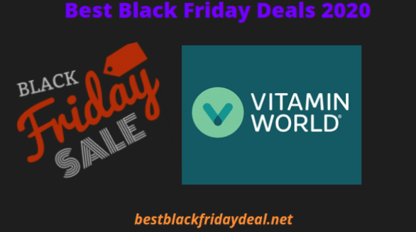 Vitamin World Black Friday 2020