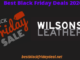 Wilsons Leather Black Friday 2020