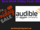 audible black friday 2020