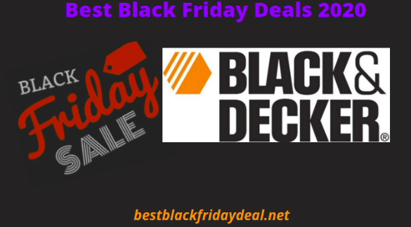 black and decker black friday 2020