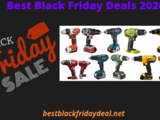 cordless drill black friday sale 2020