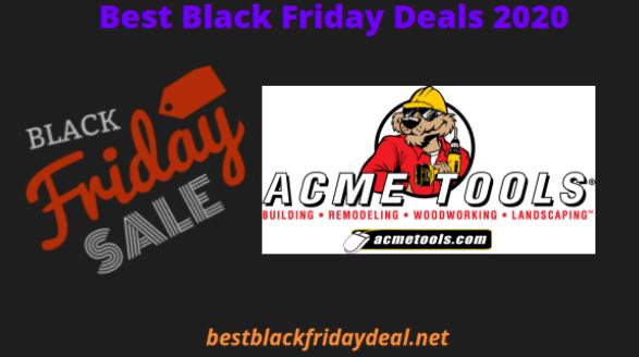Acme Tools Black friday 2020