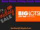Big Lots Black Friday 2020