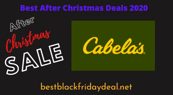 Cabela's After Christmas Sale 2020