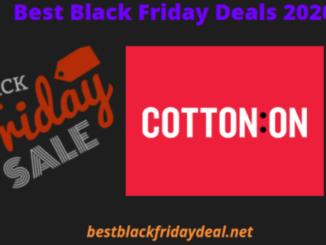 Cotton On Black Friday 2020