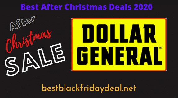 Dollar General After Christmas 2020 Sale