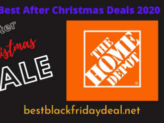 Home Depot After Christmas Sale 2020