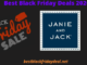 Janie and Jack Black Friday 2020