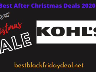 Kohls After Christmas Deals 2020