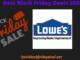 Lowe's Black Friday 2020