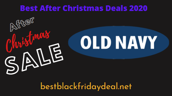 Old Navy After Christmas Sale 2020