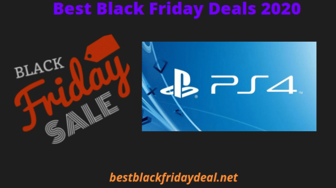 PS4 Black Friday 2020