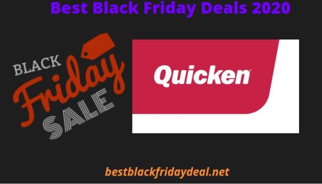 Quicken Black Friday 2020
