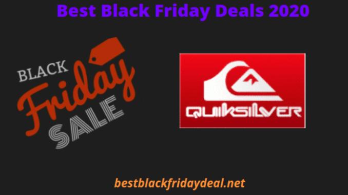 Quicksilver Black Friday Deals 2020
