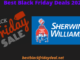 Sherwin Williams Black Friday 2020