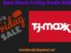 TJ Maxx Black Friday 2020