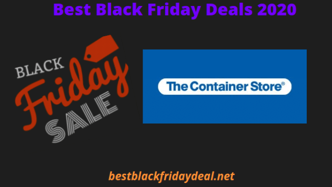The Container Store Black Friday 2020