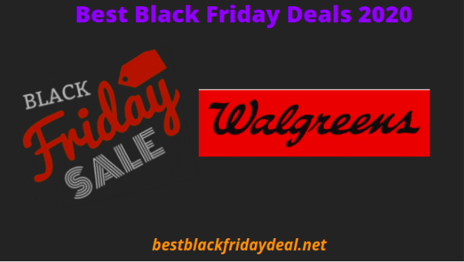 Walgreens Black Friday Deals 2020