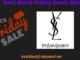 Yves Saint Laurant Black Friday 2020