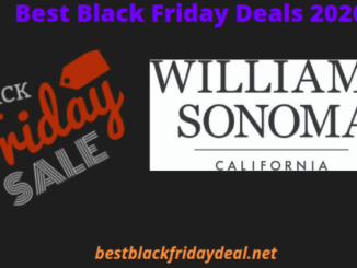 Williams Sonoma black friday 2020