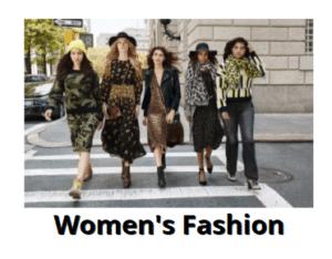womens fashion black friday 2021
