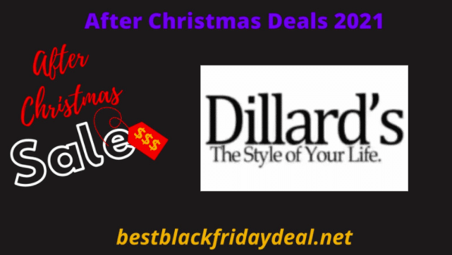 Dillards After Christmas Deals 2021