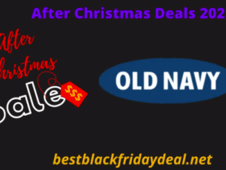 Old Navy After Christmas Sale 2021