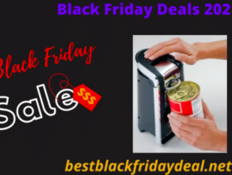 Electric Can Openers Black Friday 2020