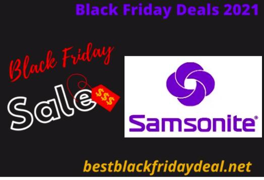 Samsonite Black Friday 2021 Deals