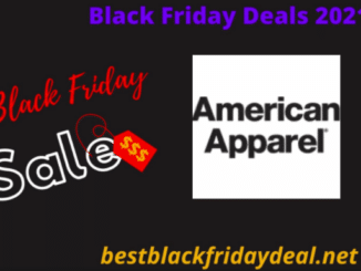 American Apparel Black friday 2021
