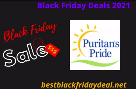 Puritan's Pride Black Friday 2021